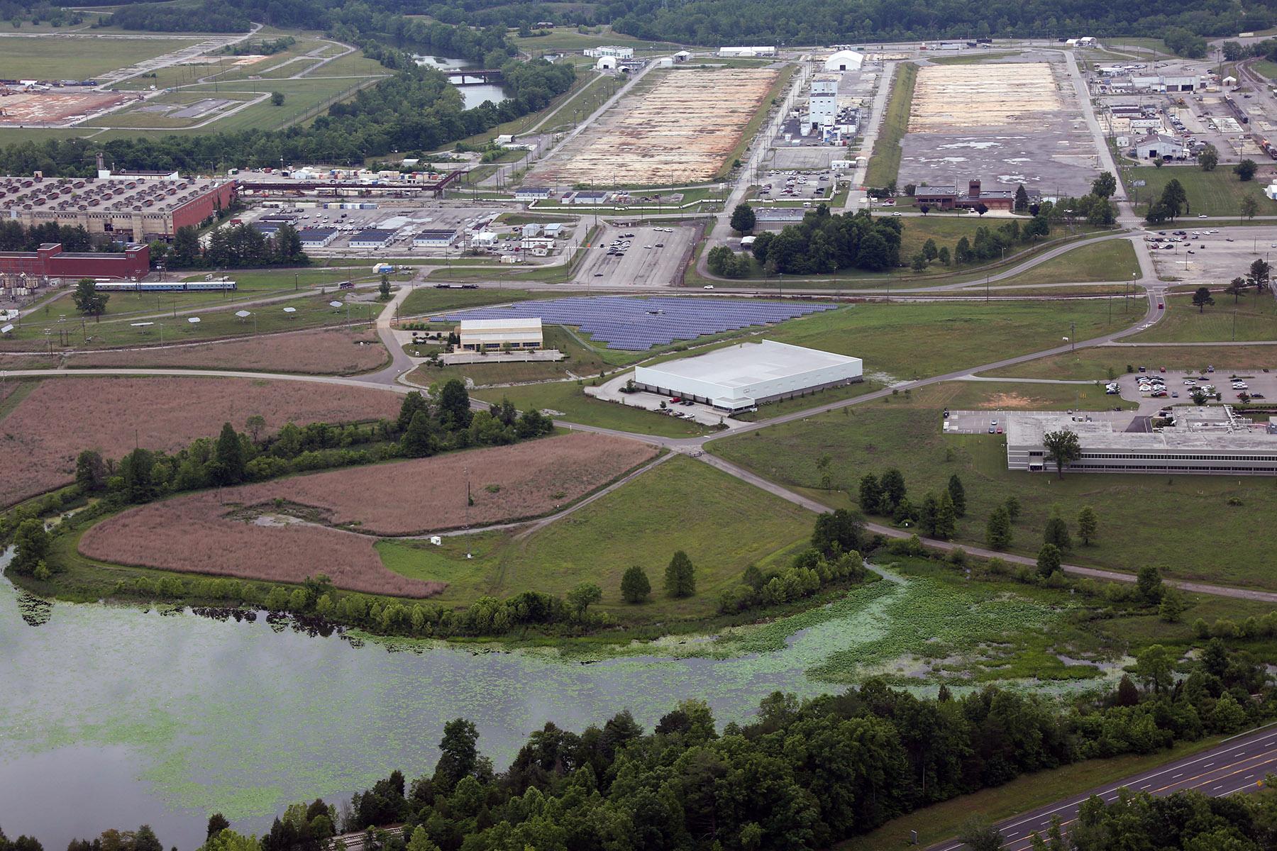 Aerial of Spec Bldgs ED-5 - 2015